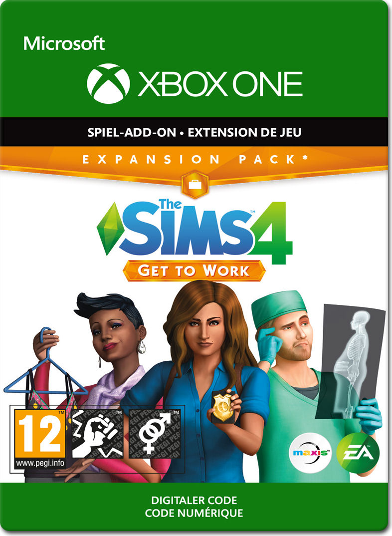 Die Sims 4 Get To Work Xbox One Digital World Of Games