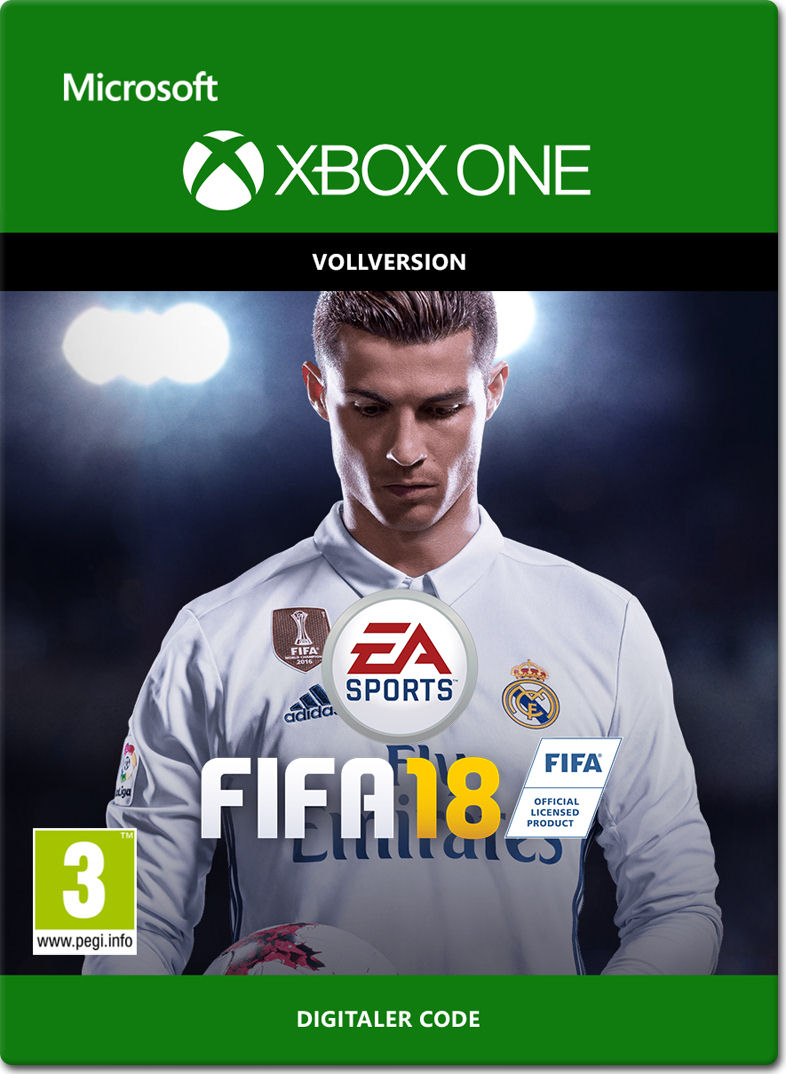 fifa 18 xbox one digital world of games. Black Bedroom Furniture Sets. Home Design Ideas
