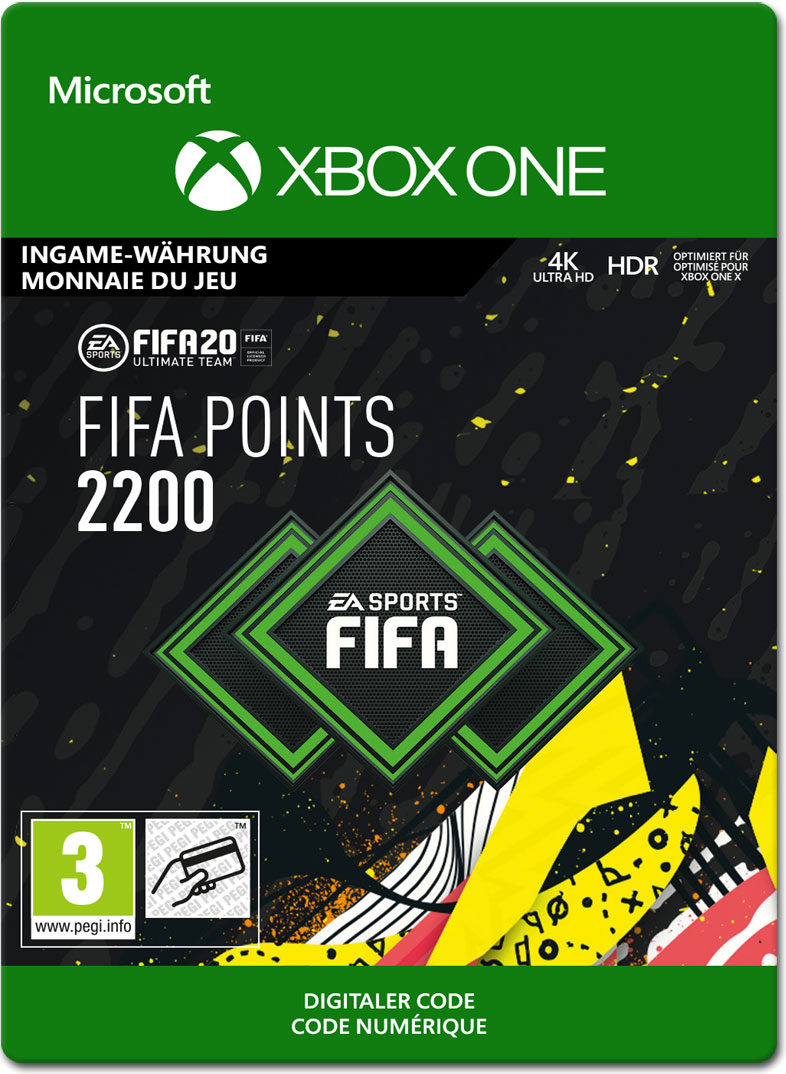 FIFA 20 Ultimate Team: 2200 Points [Xbox One-Digital