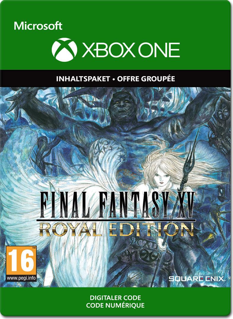 Final Fantasy 15 Royal Edition Xbox One Digital World Of Games Xv Deluxe Region 3