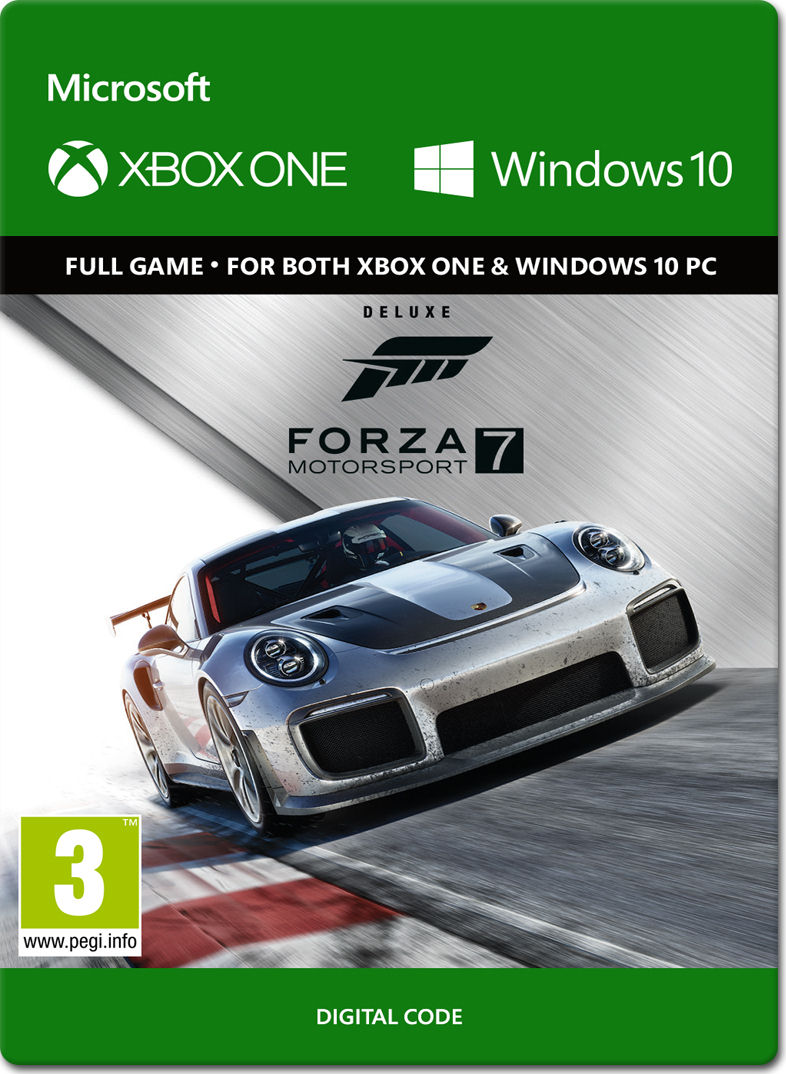 forza motorsport 7 deluxe edition xbox one digital world of games. Black Bedroom Furniture Sets. Home Design Ideas