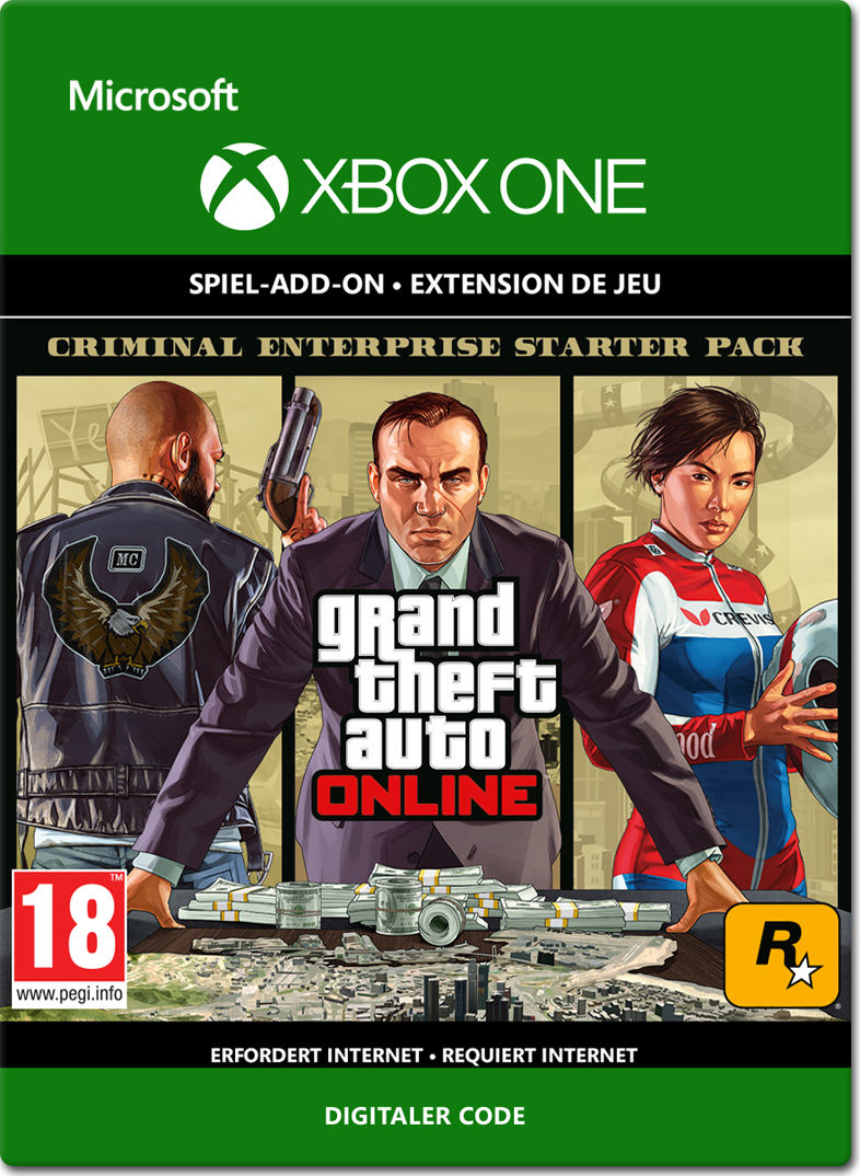 grand theft auto 5 criminal enterprise starter pack xbox