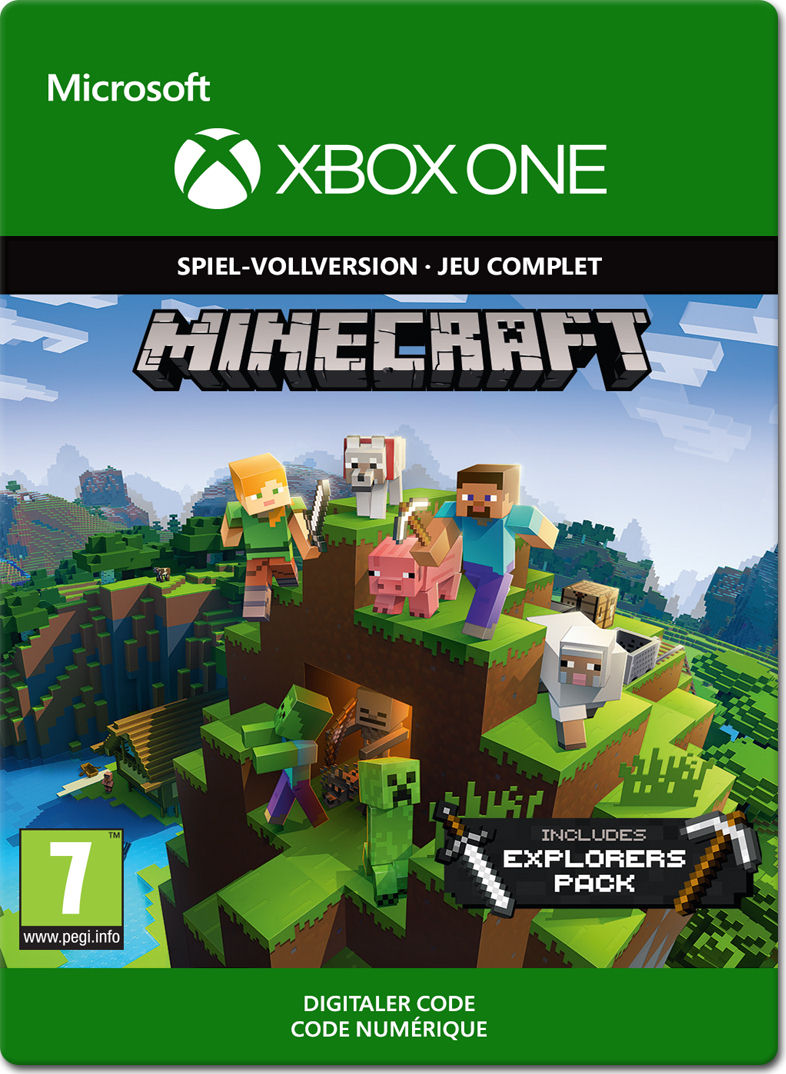 Minecraft Explorers Pack Edition Xbox OneDigital World Of Games - Minecraft spielen vollversion