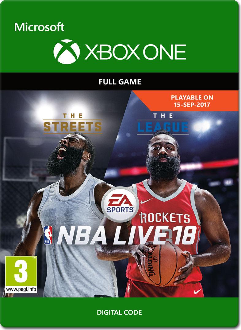 NBA Live 18 [Xbox One-Digital] • World of Games