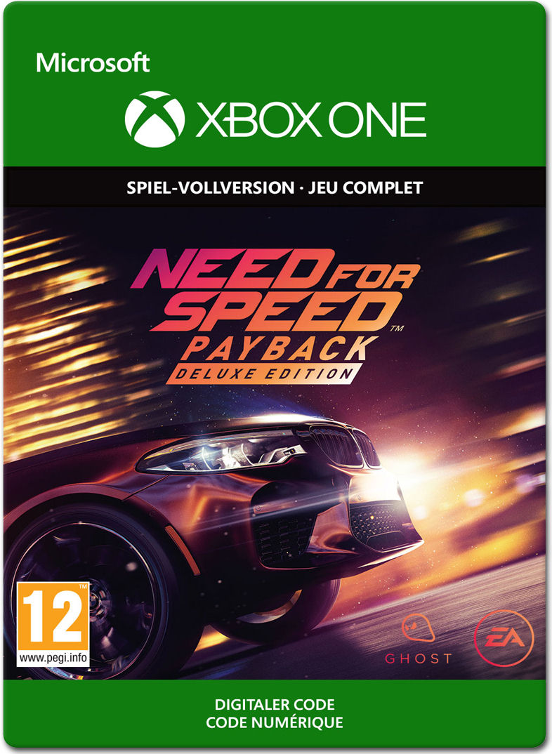 need for speed payback deluxe edition xbox one digital world of games. Black Bedroom Furniture Sets. Home Design Ideas