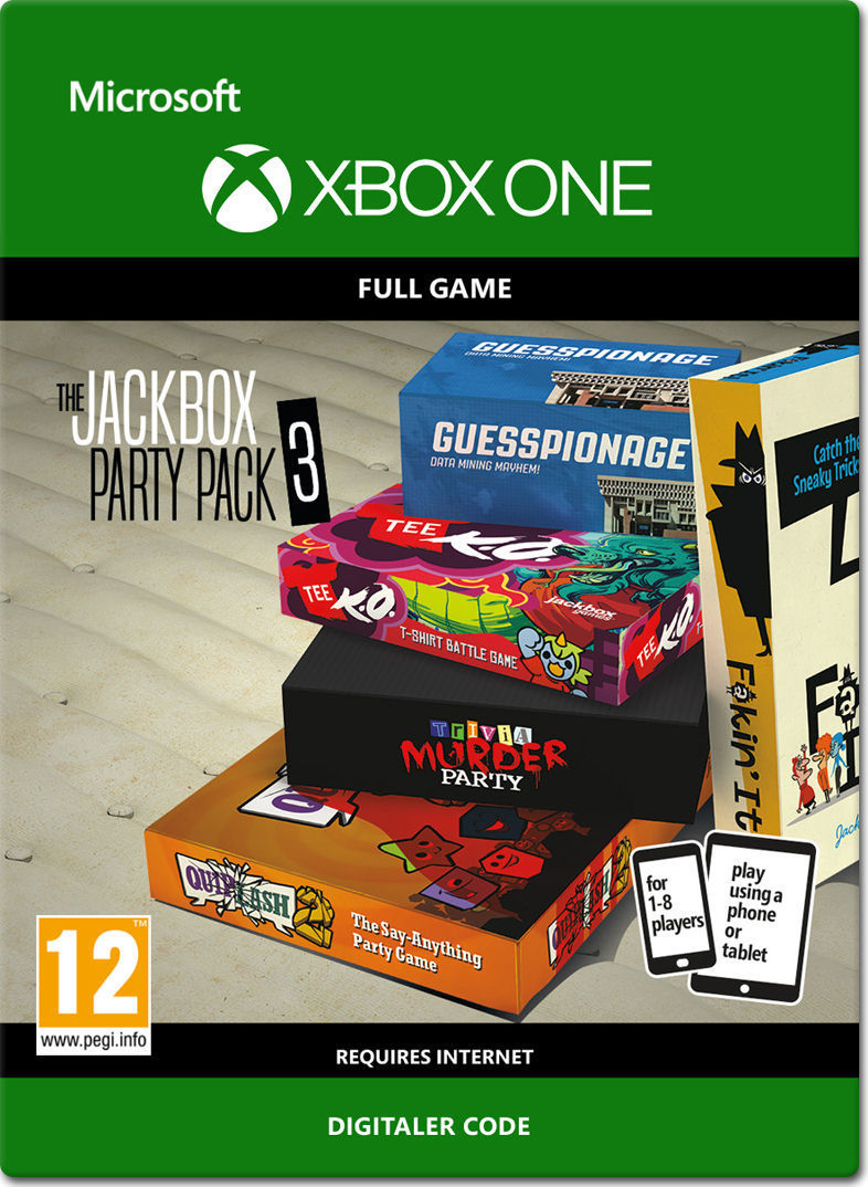 The Jackbox Party Pack 3 Xbox One-Digital • World of Games