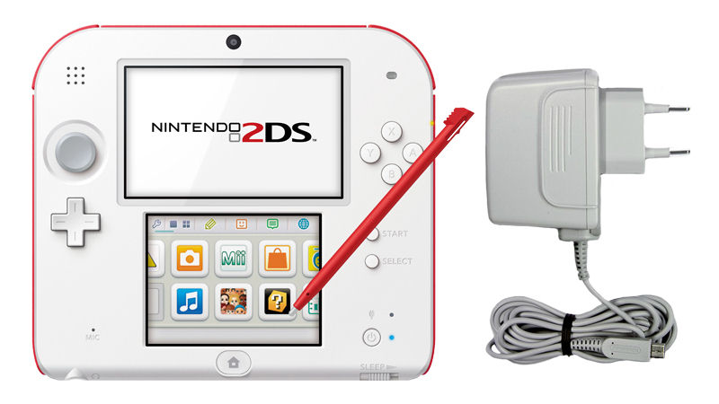 "Screenshot ""Nintendo 2DS New Super Mario Bros. 2 Bundle -White/Red-"""