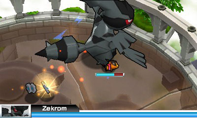 "Screenshot ""Super Pokémon Rumble"""