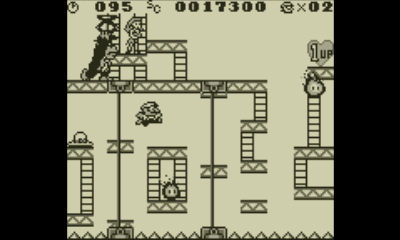 "Screenshot ""Donkey Kong -Game Boy-"""