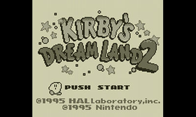 "Screenshot ""Kirby's Dream Land 2"""