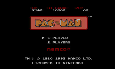 "Screenshot ""Pac-Man -Game Boy-"""