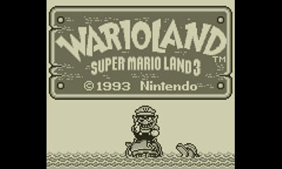 "Screenshot ""Wario Land: Super Mario Land 3"""