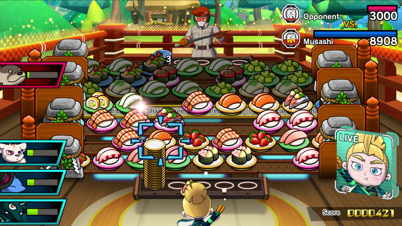 Sushi Striker The Way Of Sushido Nintendo Switch World Games Soldam Drop Connect Erase Game English