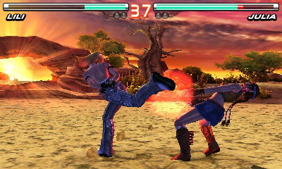 "Screenshot ""Tekken 3D Prime Edition -E-"""