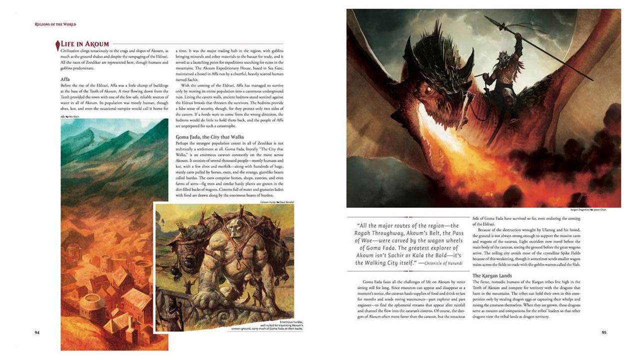 "Screenshot ""The Art of Magic: The Gathering - Zendikar"""
