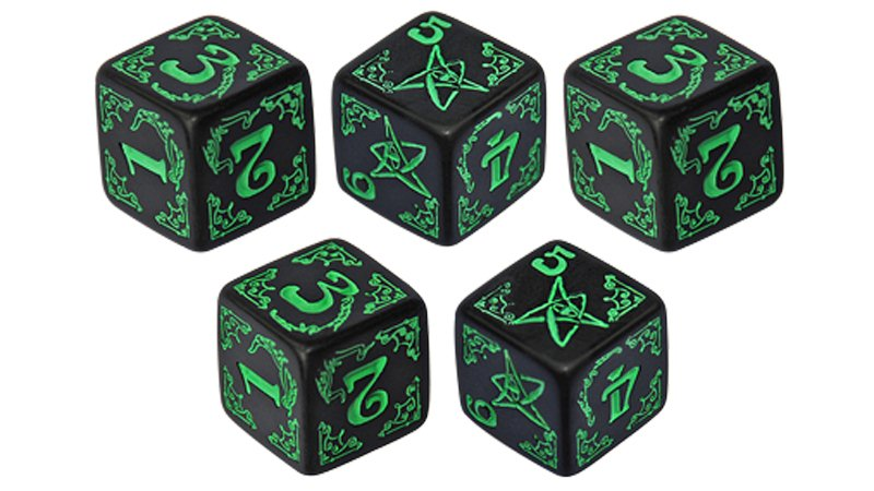 "Screenshot ""Arkham Horror Dice Set -schwarz-"""