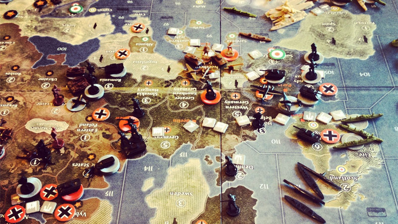 "Screenshot ""Axis & Allies Europe 1940 - Second Edition -E-"""