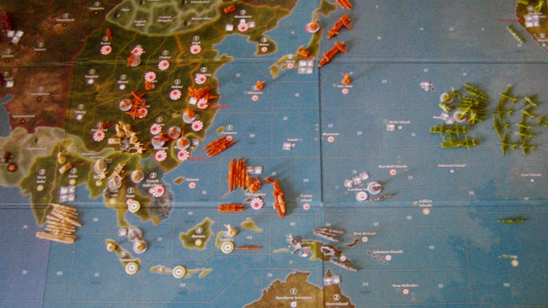 "Screenshot ""Axis & Allies Pacific 1940 - Second Edition -E-"""