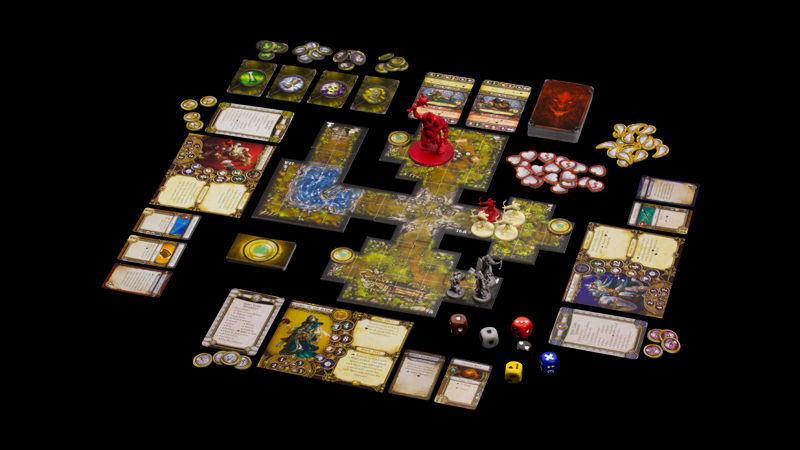 descent 2 brettspiel deutsch