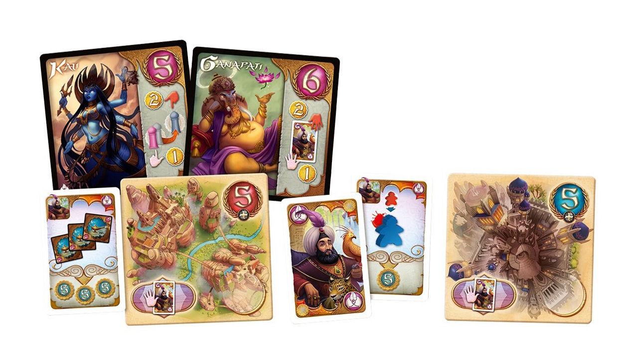 "Screenshot ""Five Tribes: Die Launen des Sultans"""