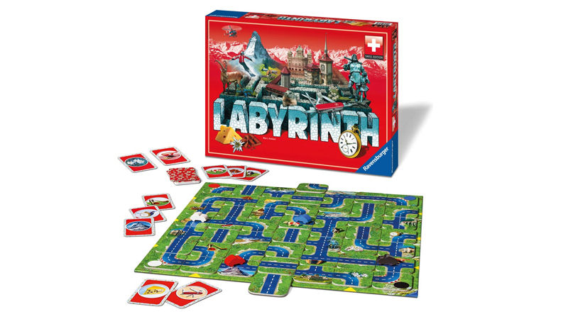 "Screenshot ""Labyrinth - Swiss Edition"""