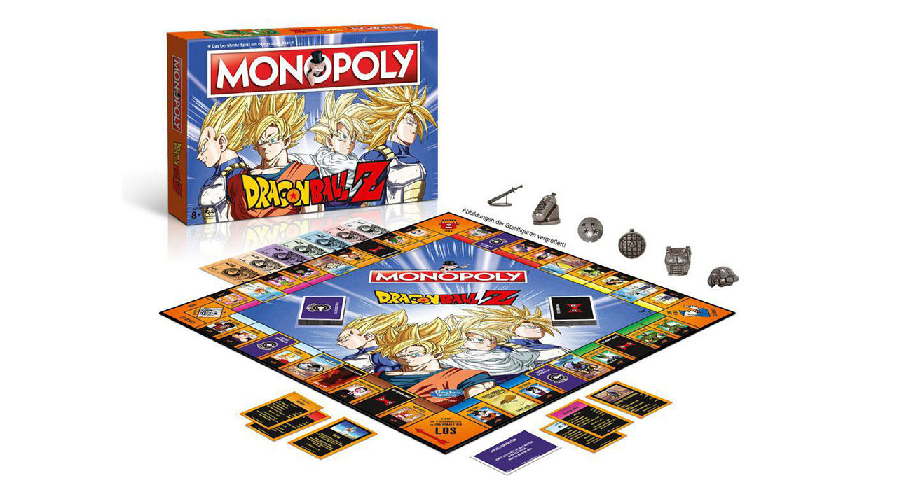 "Screenshot ""Monopoly - Dragonball Z"""