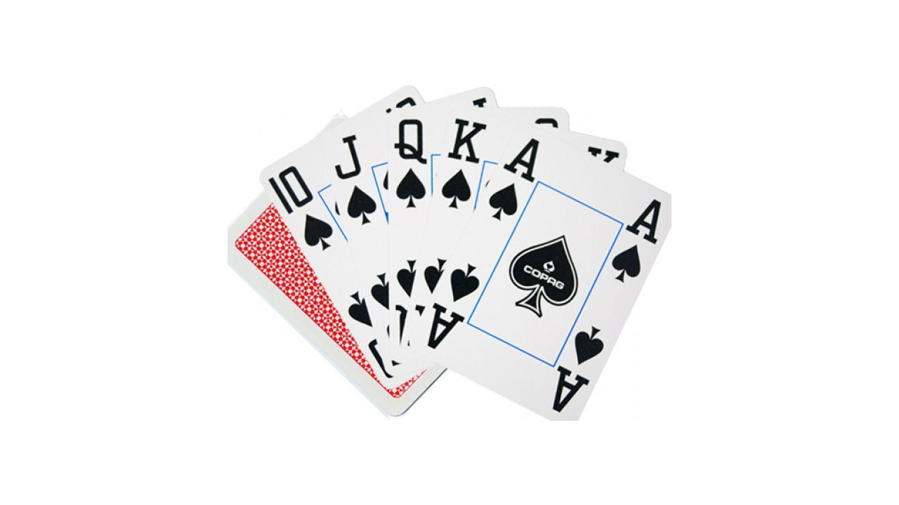 "Screenshot ""Poker Cards 4 Corner PVC - Jumbo Index Face Red"""