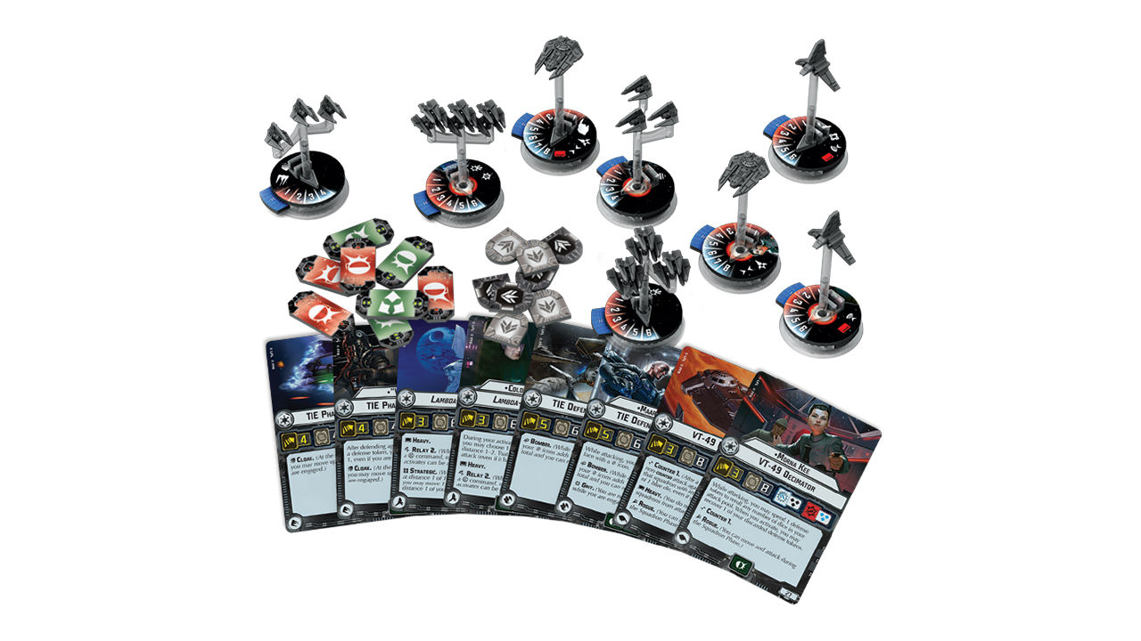 "Screenshot ""Star Wars: Armada - Sternenjäger-Staffeln des Imperiums 2"""