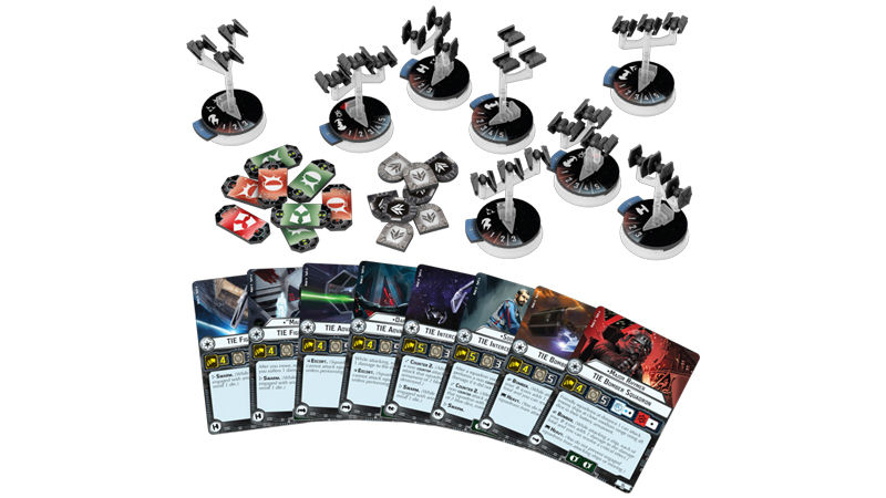 "Screenshot ""Star Wars: Armada - Sternenjäger-Staffeln des Imperiums"""
