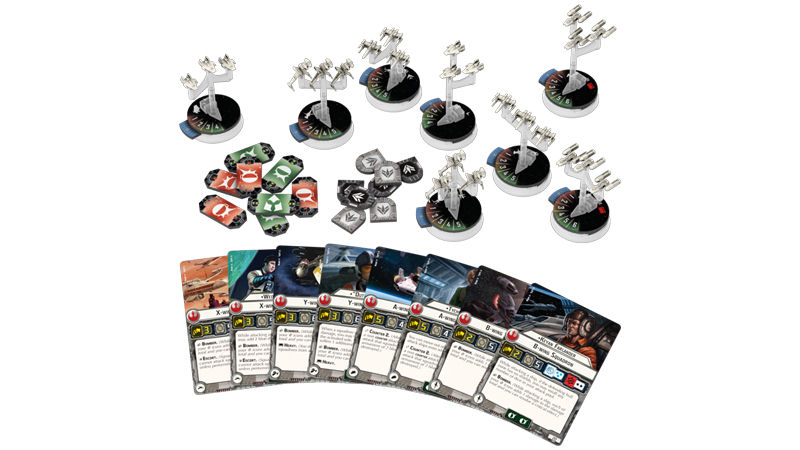"Screenshot ""Star Wars: Armada - Sternenjäger-Staffeln der Rebellenallianz"""