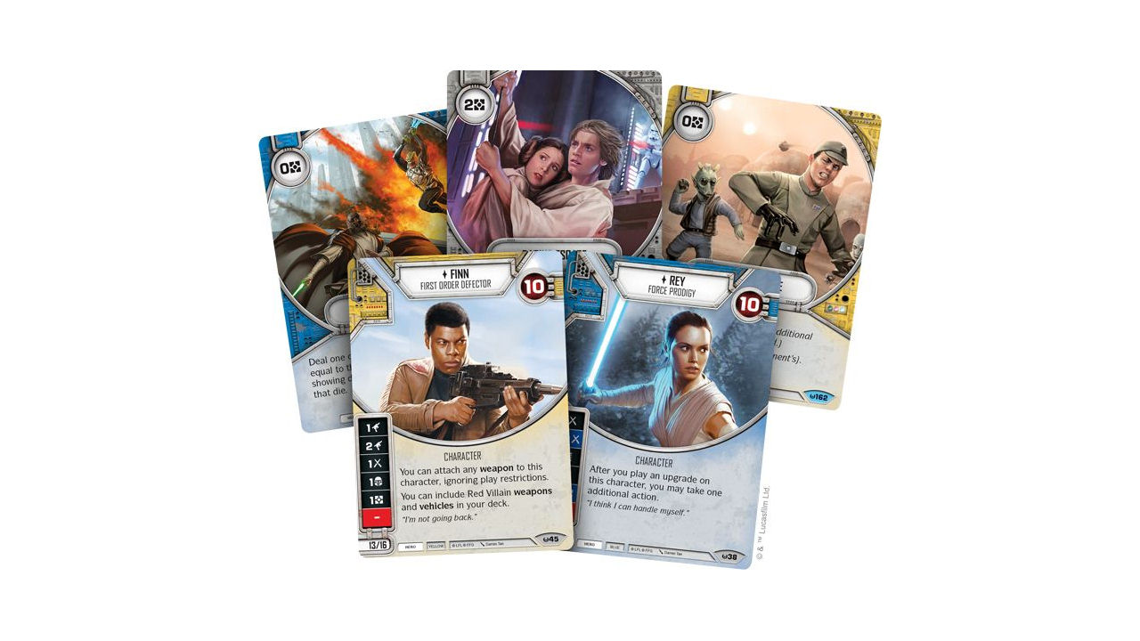 "Screenshot ""Star Wars: Destiny - Rey Starter-Set"""