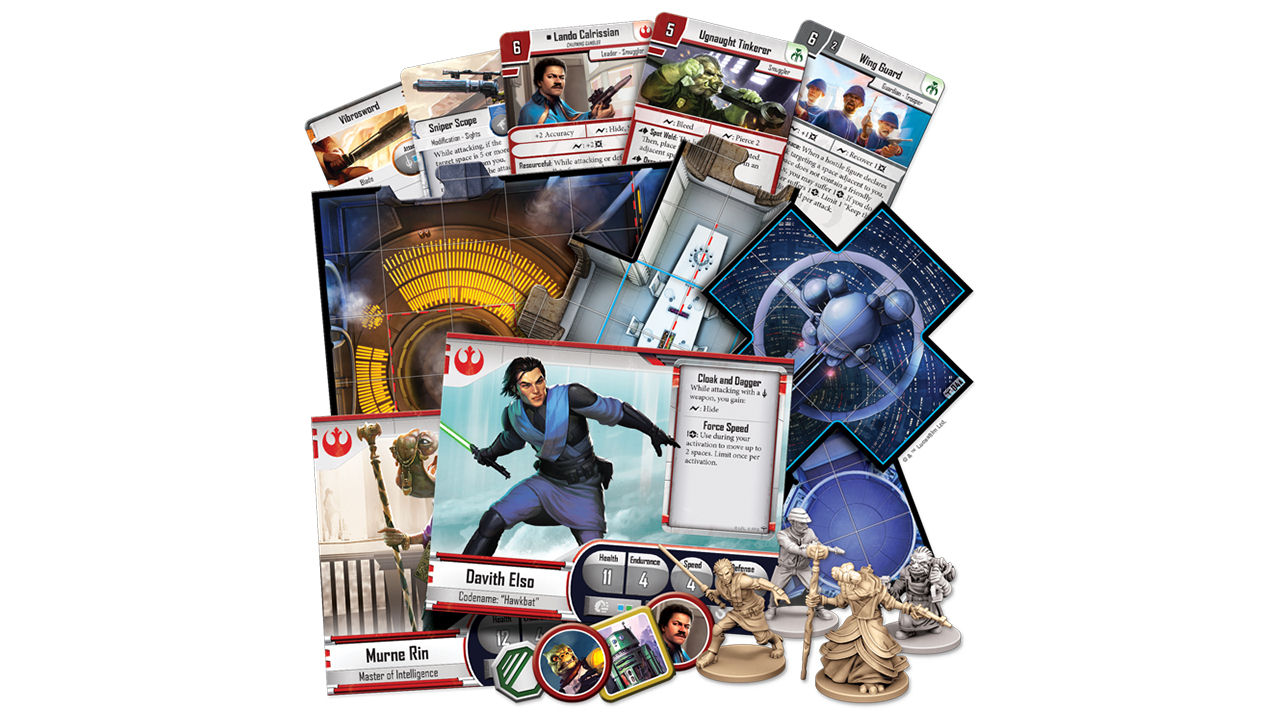 "Screenshot ""Star Wars: Imperial Assault - Riskantes Spiel auf Bespin"""