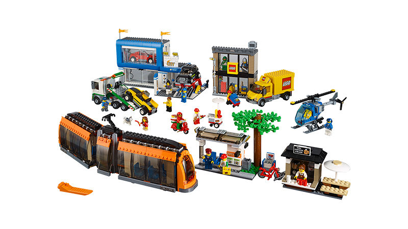 "Screenshot ""LEGO City: Stadtzentrum (60097)"""