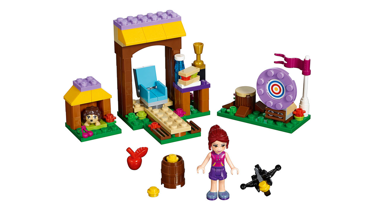 "Screenshot ""LEGO Friends: Abenteuercamp Bogenschiessen (41120)"""
