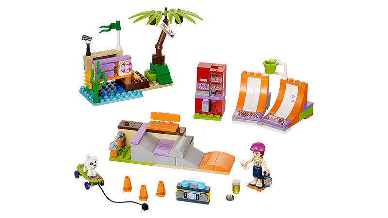 "Screenshot ""LEGO Friends: Heartlake Skatepark (41099)"""