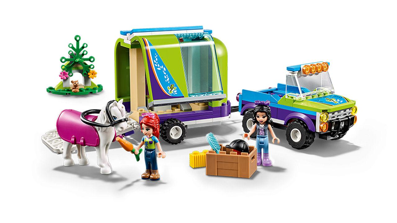 Lego Friends Mias Pferdetransporter 41371 Lego World Of Games