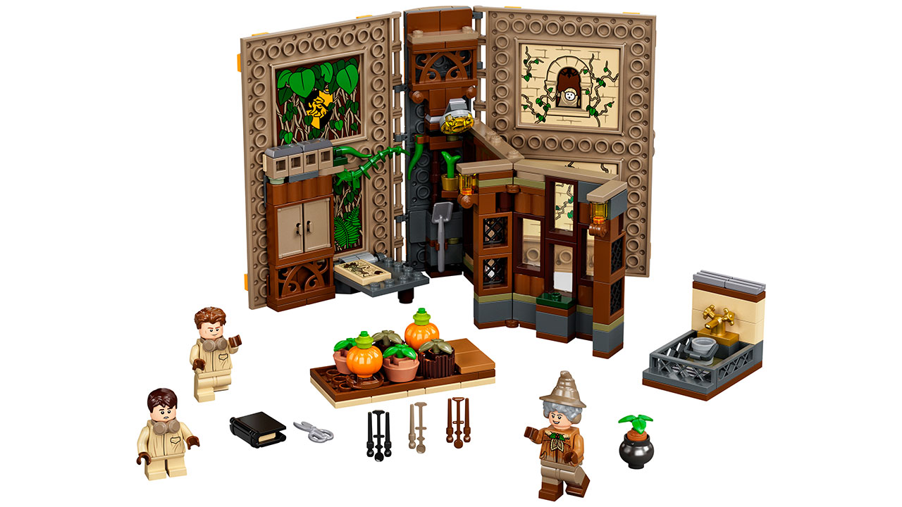 "Screenshot ""LEGO Harry Potter: Hogwarts Moment - Kräuterkundeunterrich (76384)"""