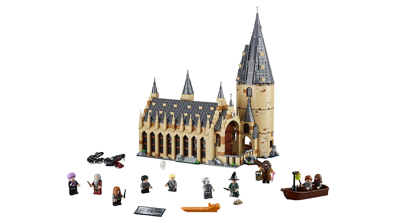 "Screenshot ""LEGO Harry Potter: Die grosse Halle von Hogwarts (75954)"""