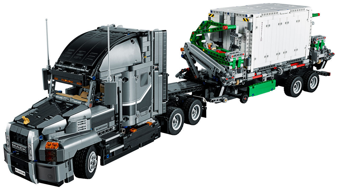 lego technic mack anthem 42078 lego world of games. Black Bedroom Furniture Sets. Home Design Ideas