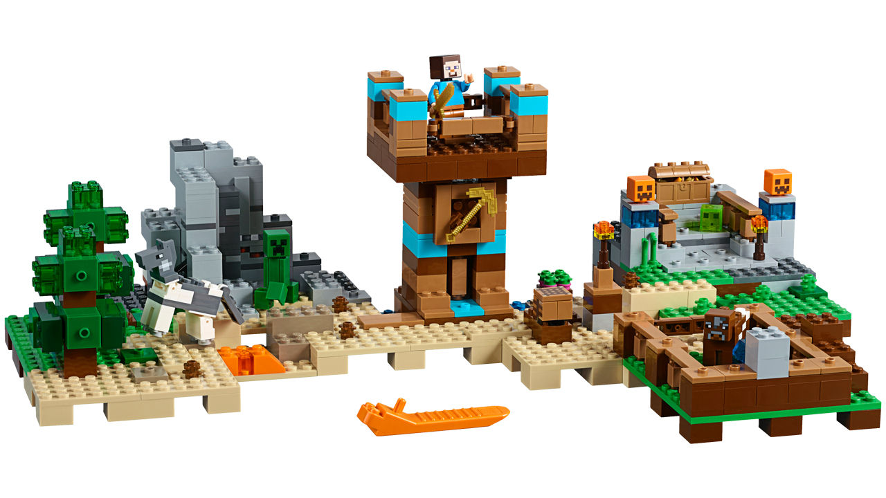 "Screenshot ""LEGO Minecraft: Die Crafting-Box 2.0 (21135)"""