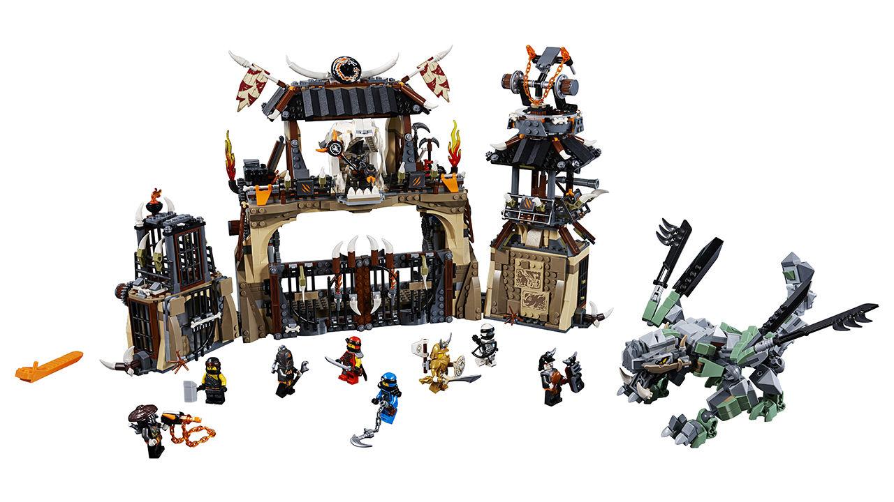 Lego Ninjago Drachengrube 70655 Lego World Of Games