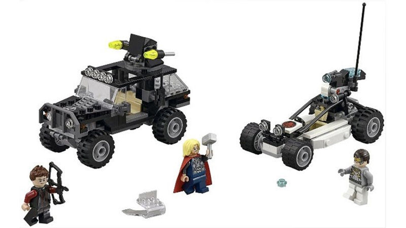 "Screenshot ""LEGO Super Heroes: Avengers - Duell mit Hydra (76030)"""