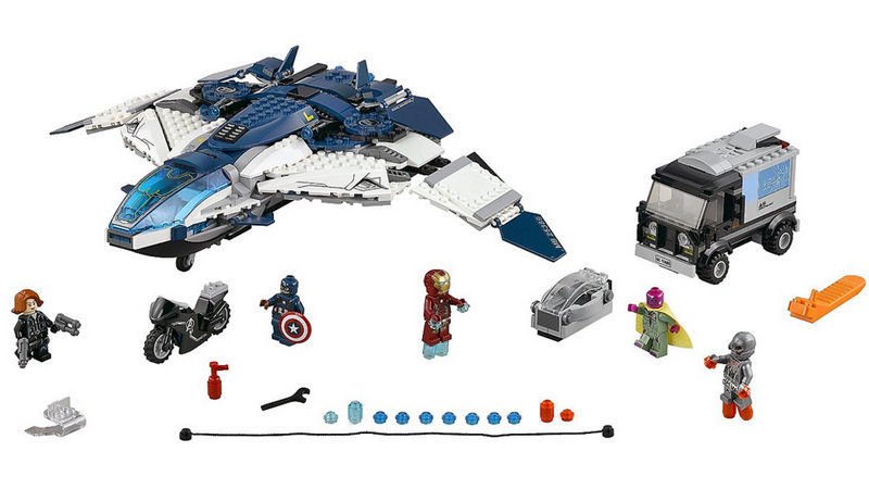"Screenshot ""LEGO Super Heroes: The Avengers Quinjet Verfolgungsjagd (76032)"""