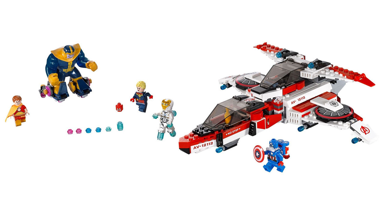 "Screenshot ""LEGO Super Heroes: Avenjet Weltraummission (76049)"""