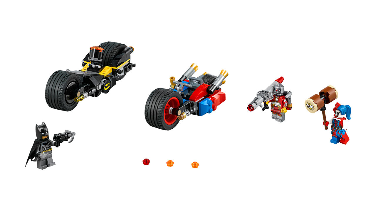 "Screenshot ""LEGO Super Heroes: Batman - Batcycle Verfolgungsjagd in Gotham City (76053)"""