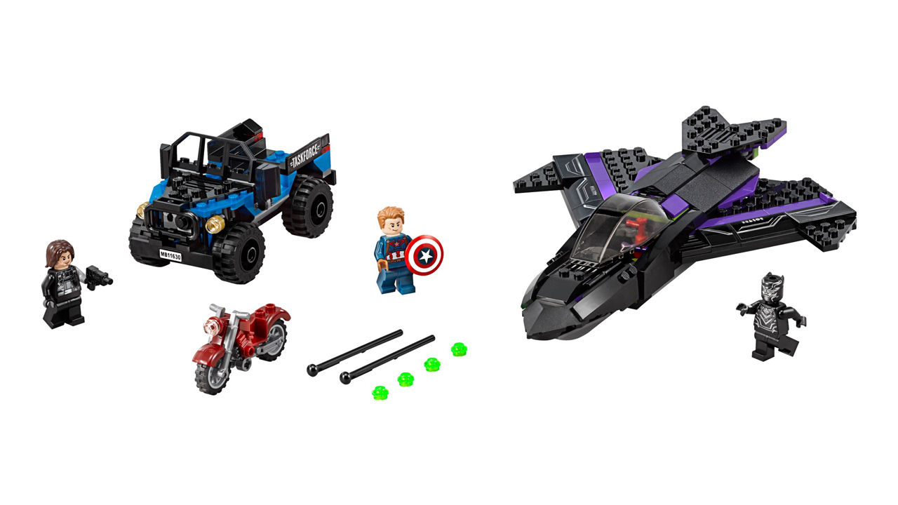 "Screenshot ""LEGO Super Heroes: Jagd auf Black Panther (76047)"""