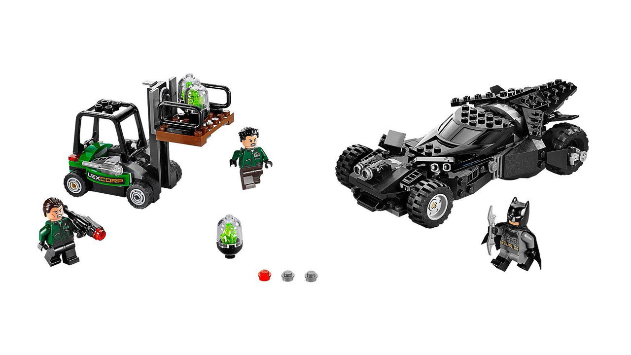 "Screenshot ""LEGO Super Heroes: Kryptonit-Mission im Batmobil (76045)"""
