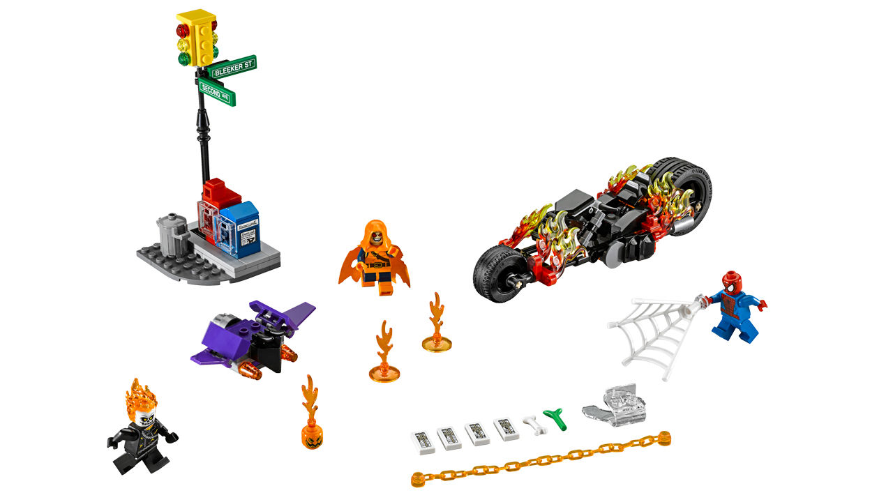 "Screenshot ""LEGO Super Heroes: Spider-Man - Ghost Riders Verbündete (76058)"""