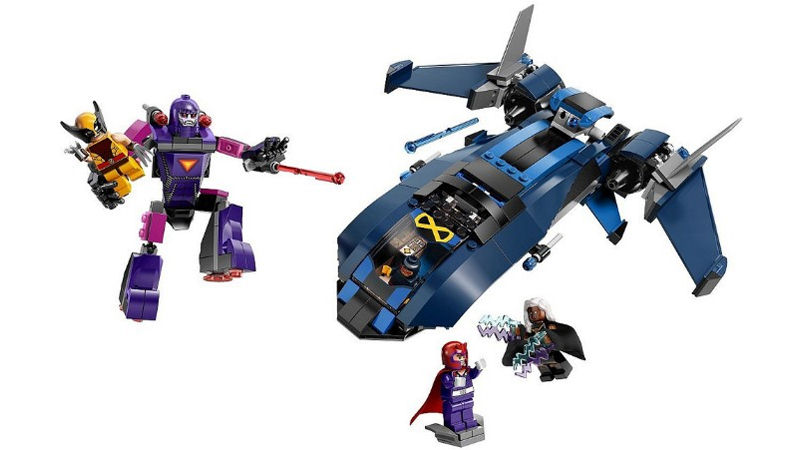 "Screenshot ""LEGO Super Heroes: X-Men vs. The Sentinel (76022)"""