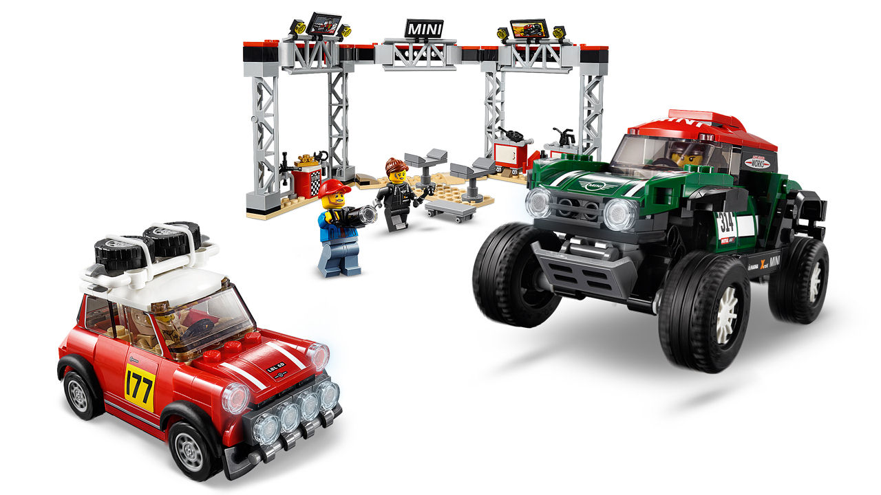 "Screenshot ""LEGO Speed Champions: Rallyeauto 1967 Mini Cooper S & Buggy Mini J. Cooper Works (75894)"""